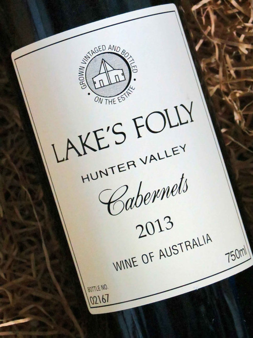 [SOLD-OUT] Lake's Folly White Label Cabernets 2013