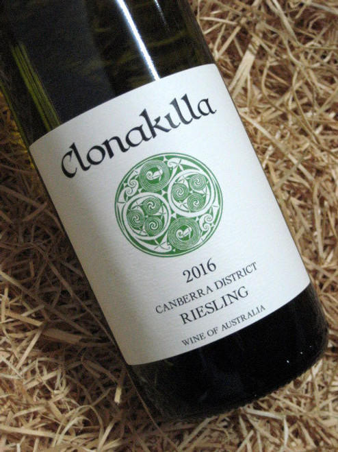 [SOLD-OUT] Clonakilla Riesling 2016