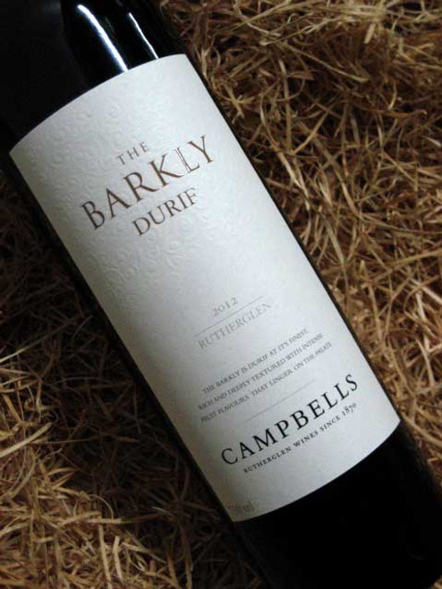 [SOLD-OUT] Campbells Barkly Durif 2012