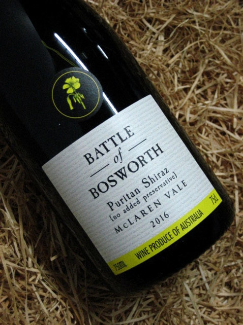 [SOLD-OUT] Battle of Bosworth Puritan Shiraz 2016