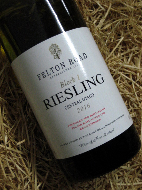 [SOLD-OUT] Felton Road Block 1 Riesling 2016