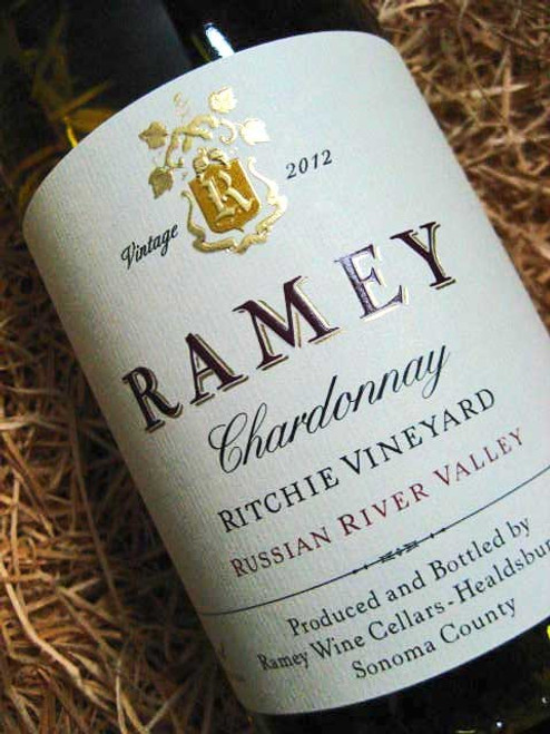 [SOLD-OUT] Ramey Ritchie Chardonnay 2012