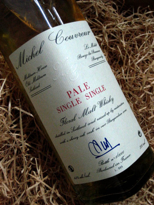 [SOLD-OUT] Michel Couvreur Pale Single-Single Whisky 12YO
