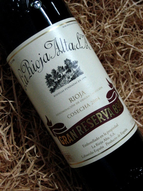 [SOLD-OUT] La Rioja Alta Gran Reserva '890' 2004