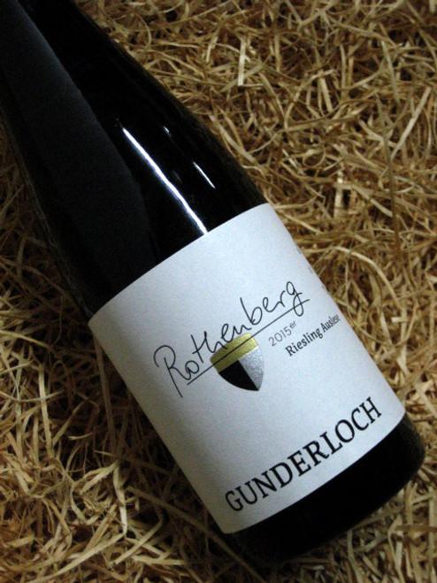 [SOLD-OUT] Gunderloch Nackenheim Rothenberg Riesling-Auslese 2015 375mL-Half-Bottle
