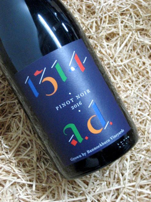 [SOLD-OUT] Bannockburn 1314 AD Pinot Noir 2016