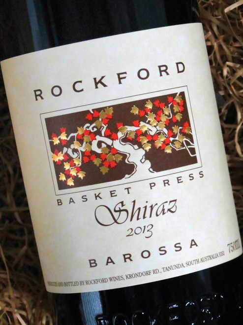 [SOLD-OUT] Rockford Basket Press Shiraz 2013