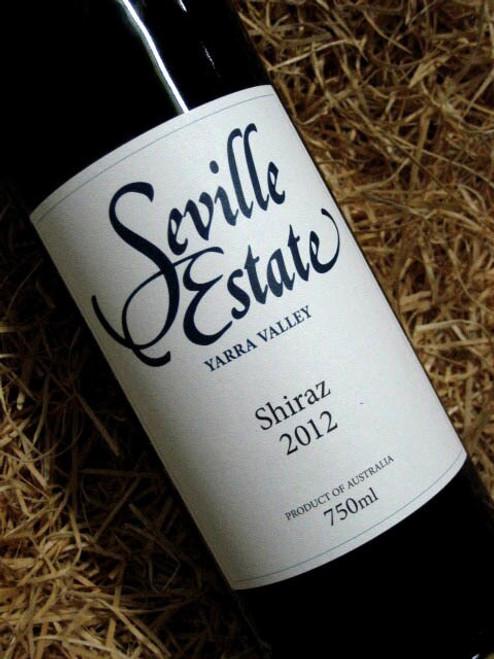 [SOLD-OUT] Seville Estate Shiraz 2012