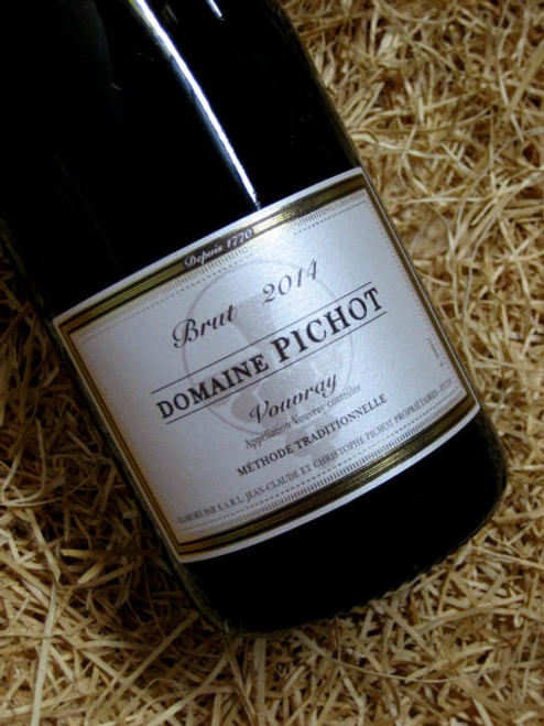 [SOLD-OUT] Pichot Brut Vouvray 2014