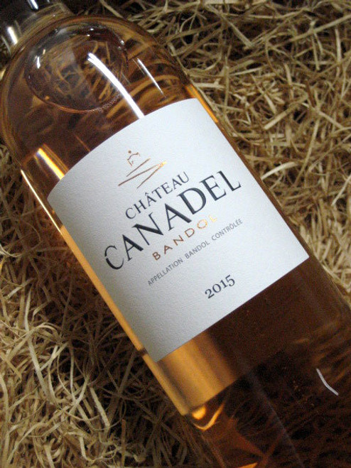 [SOLD-OUT] Chateau Canadel Bandol Rose 2015