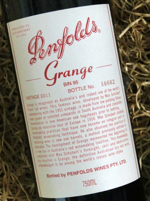 [SOLD-OUT] Penfolds Grange 2011