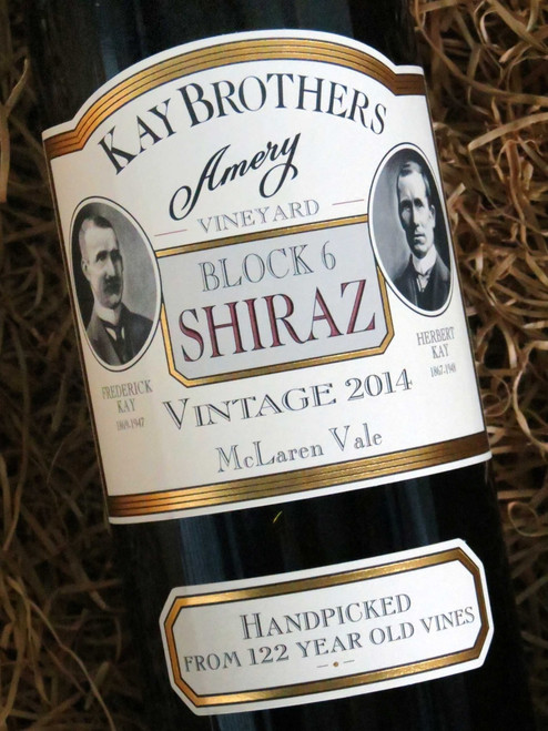 [SOLD-OUT] Kay Brothers Block 6 Shiraz 2014