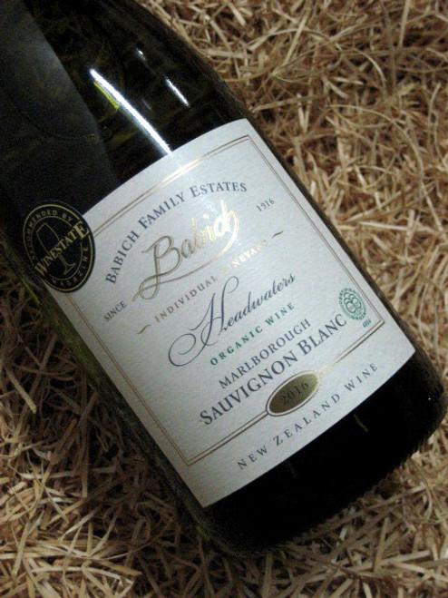 [SOLD-OUT] Babich Organic Single Vineyard Sauvignon Blanc 2016