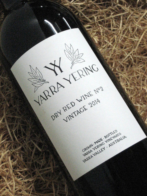 [SOLD-OUT] Yarra Yering Dry Red No 2 2014 1500mL-Magnum