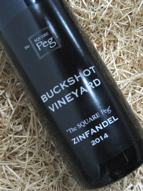 [SOLD-OUT] Buckshot The Square Peg Zinfandel 2014