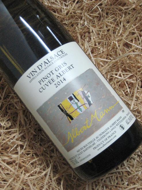 [SOLD-OUT] Albert Mann Cuvee Albert Pinot Gris 2014