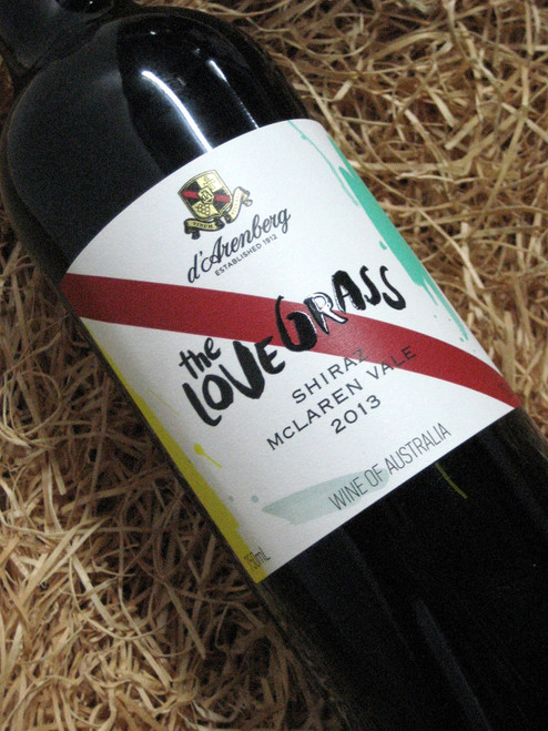 [SOLD-OUT] d'Arenberg Love Grass Shiraz 2013