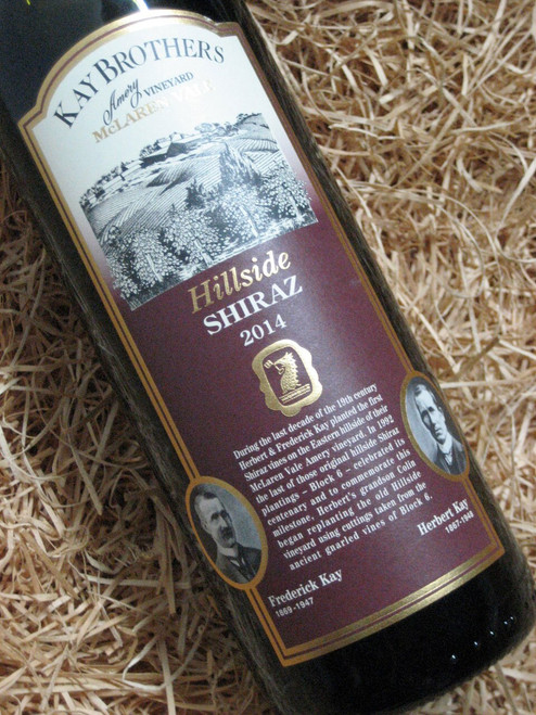[SOLD-OUT] Kay Brothers Hillside Shiraz 2014