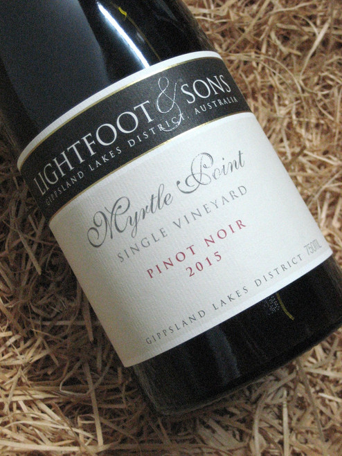 [SOLD-OUT] Lightfoot & Sons Myrtle Point Pinot Noir 2015