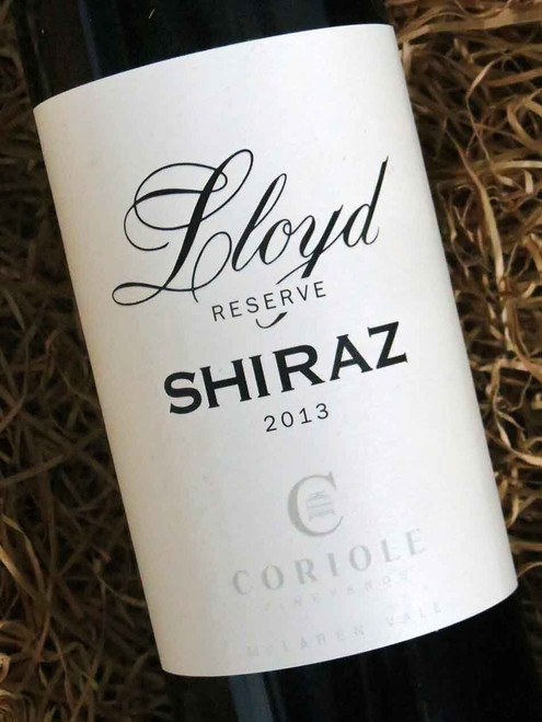 Coriole Lloyd Reserve Shiraz 2013