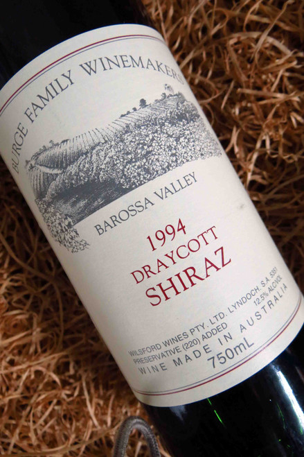 [SOLD-OUT] Burge Family Draycott Shiraz 1994