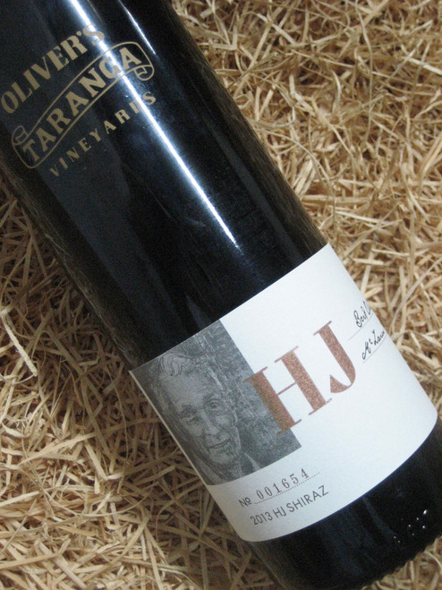 [SOLD-OUT] Oliver's Taranga 'HJ' Reserve Shiraz 2013