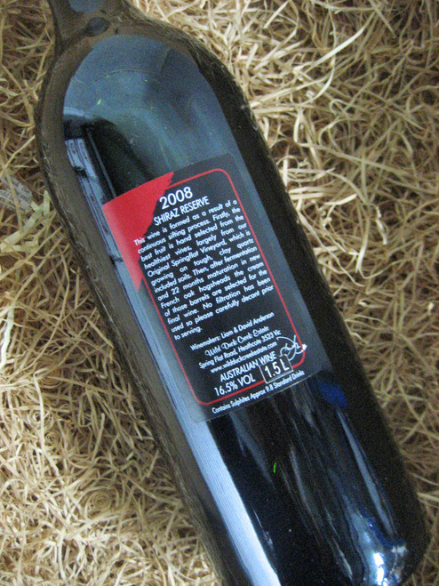 [SOLD-OUT] Wild Duck Creek Reserve Shiraz 2008 1500mL-Magnum
