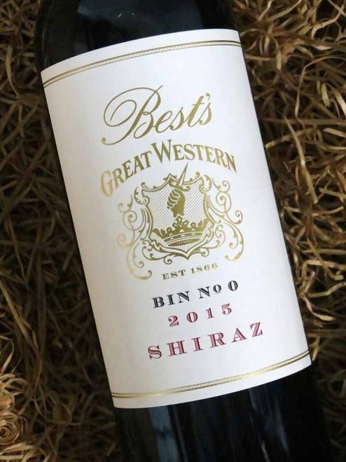 [SOLD-OUT] Best's Great Western Bin 0 Shiraz 2015