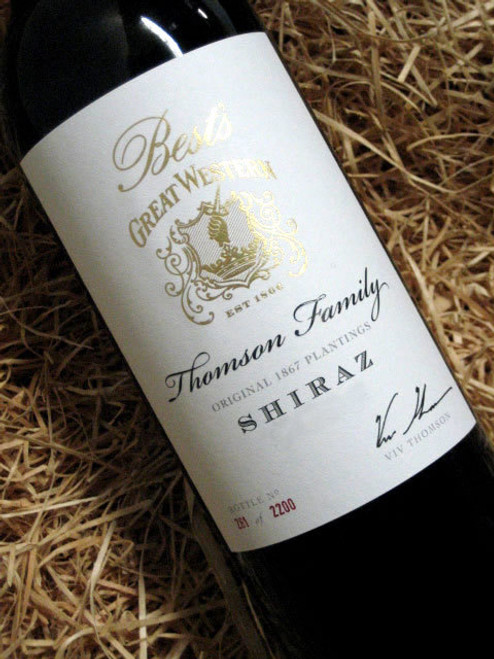 [SOLD-OUT] Best's Thomson Family Shiraz 2015