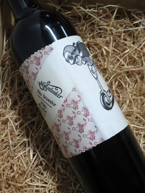 [SOLD-OUT] Mollydooker The Scooter Merlot 2016