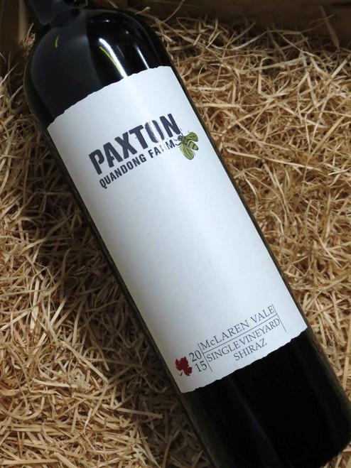 [SOLD-OUT] Paxton Quandong Farm Shiraz 2015