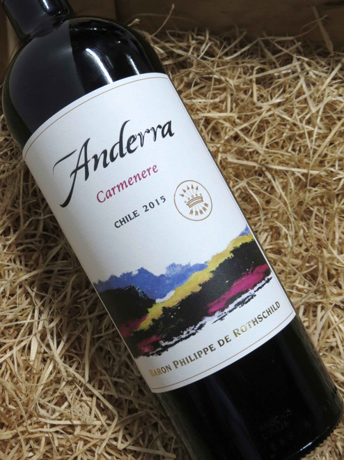 [SOLD-OUT] Rothschild Anderra Carmenere 2015