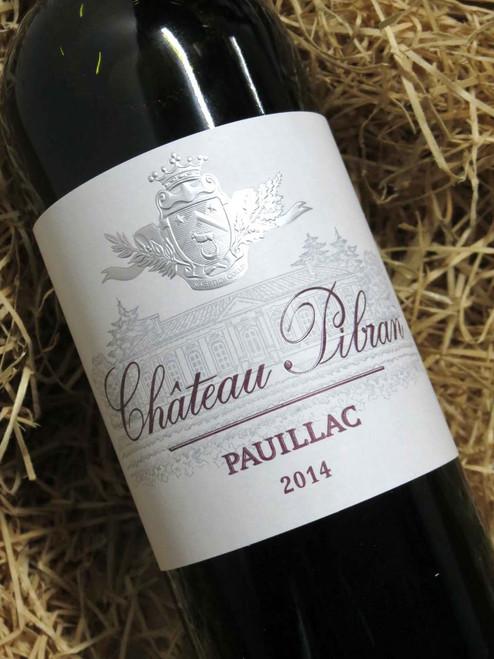 Chateau Pibran Pauillac 2014