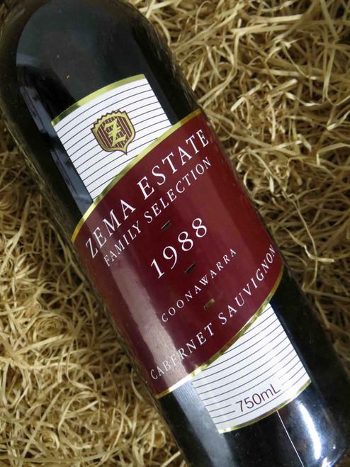 [SOLD-OUT] Zema Estate Family Selection Cabernet Sauvignon 1988