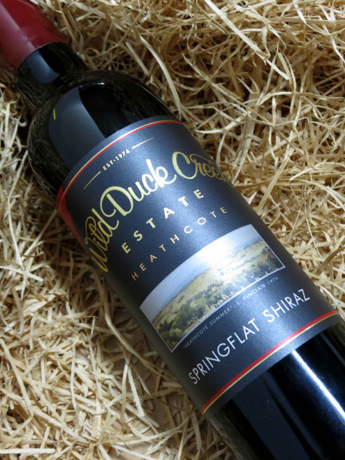 [SOLD-OUT] Wild Duck Creek Springflat Shiraz 2014 375mL-Half-Bottle