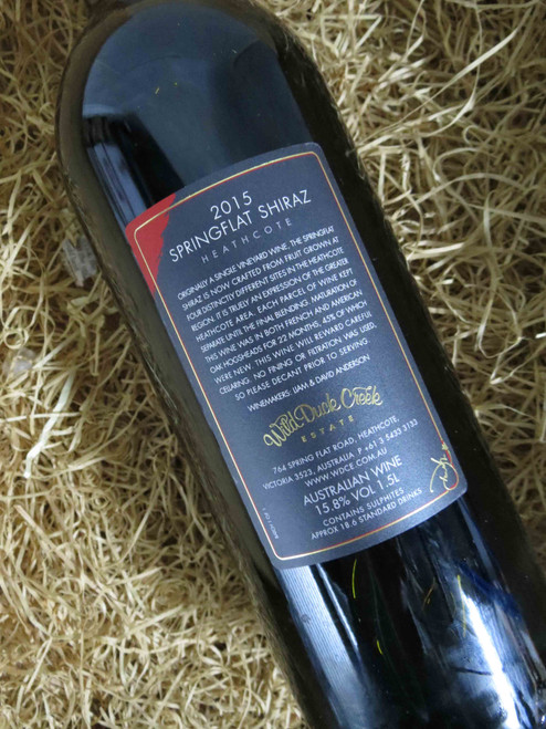 [SOLD-OUT] Wild Duck Creek Springflat Shiraz 2015 1500mL-Magnum