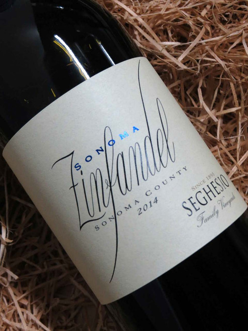 [SOLD-OUT] Seghesio Sonoma Zinfandel 2014