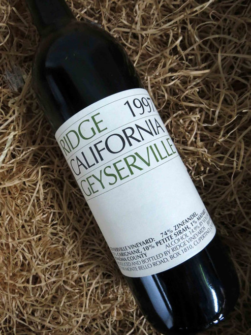 [SOLD-OUT] Ridge Geyserville 1997