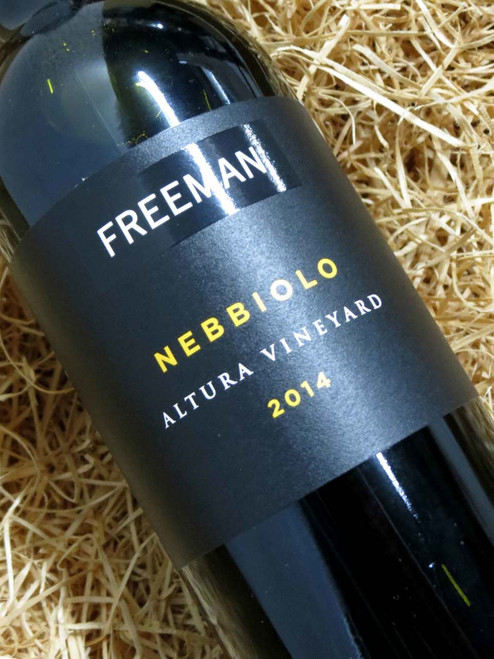 [SOLD-OUT] Freeman Nebbiolo 2014