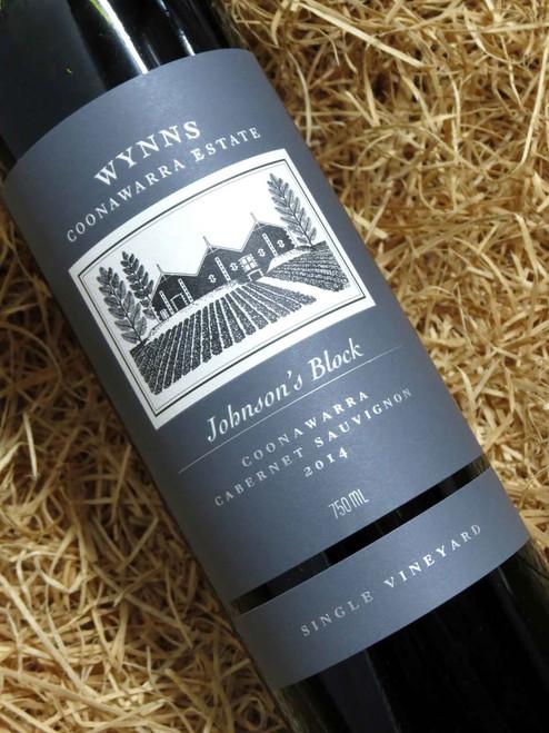 [SOLD-OUT] Wynns Johnson's Block Cabernet Sauvignon 2014