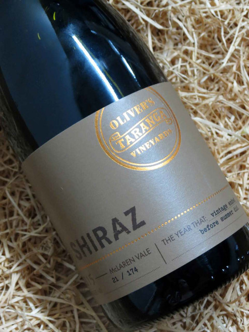 [SOLD-OUT] Oliver's Taranga Shiraz 2015