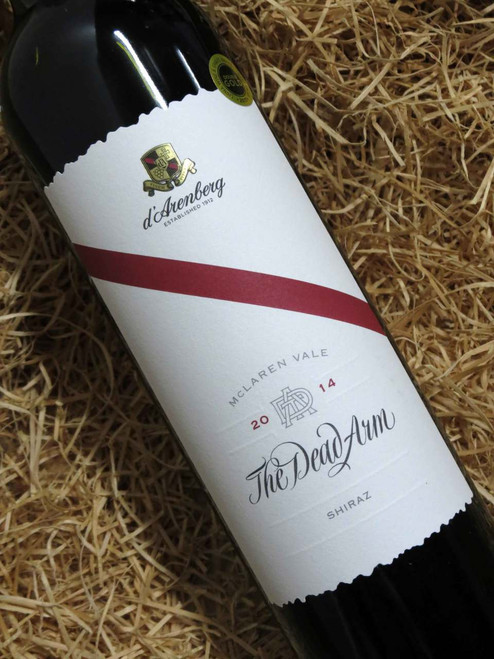 [SOLD-OUT] d'Arenberg Dead Arm Shiraz 2014 'SIGNED'
