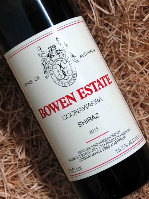 [SOLD-OUT] Bowen Estate Shiraz 2015