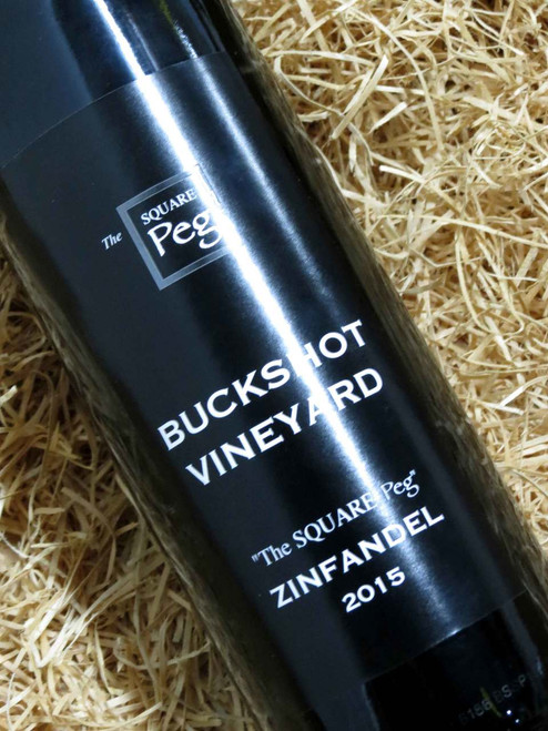 [SOLD-OUT] Buckshot The Square Peg Zinfandel 2015