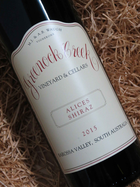 [SOLD-OUT] Greenock Creek Alices Shiraz 2015