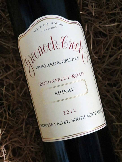 [SOLD-OUT] Greenock Creek Roennfeldt Road Shiraz 2012