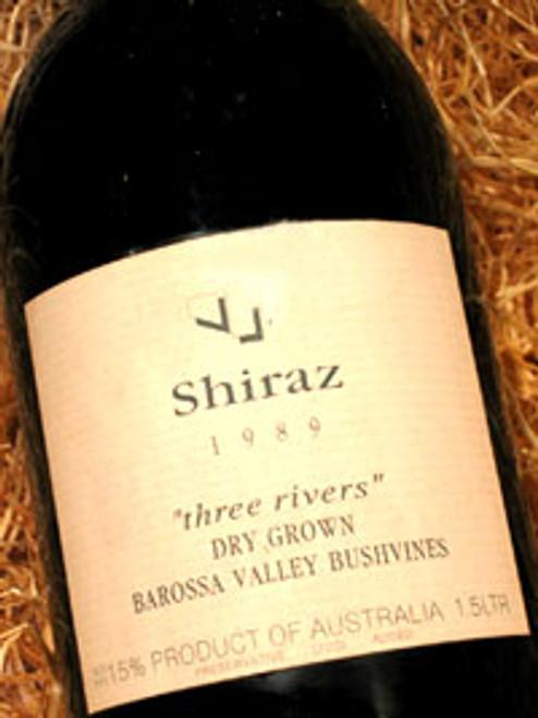 Three Rivers Dry Grown Shiraz 1989 1500mL
