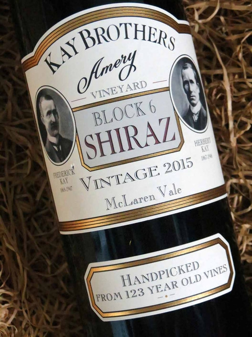 [SOLD-OUT] Kay Brothers Block 6 Shiraz 2015
