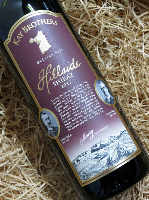 [SOLD-OUT] Kay Brothers Hillside Shiraz 2015