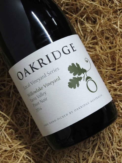 [SOLD-OUT] Oakridge Local Vineyard Series Willowlake Vineyard Pinot Noir 2016